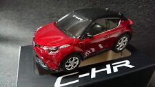 CHR Red & Black Mini Car TOYOTA Pull Back Car Not sold in stores Japan C-HR