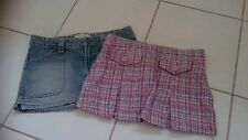 Ladies size 8 Jay Jays skirts-Denim skirt and woollen skirt