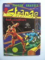 "STRANGE , N° 138 avec Poster attaché ""Spider Woman "" , Marvel , LUG , 1981 , TBE"