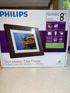 """Philips DIGITAL PHOTO FRAME 8"""" Never Used Brand New In Box!"""
