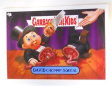 2008 Topps Garbage Pail Kids Series 7 Trading Card #22a-David Choppin' Squeal