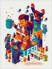 The Lego Movie Poster - Mondo - Tom Whalen - Limited Edition of 475