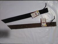 Weaver Nylon Off Billet for Western Saddles, 1 3/4 x 39-Inch, Black/Brown