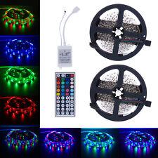 10M 3528 SMD RGB 2X5M 600LEDs LED-Licht Streifen 44 Schlüssel