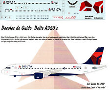 AIRBUS A320 DECAL