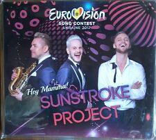 """MOLDOVA  EUROVISION 2017 ENTRY SUNSTROKE PROJECT  """"HEY MAMMA!"""" PROMO CD"""