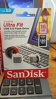SanDisk 16GB 32GB 64G 128 USB 3.0 Ultra Fit Flash Drive Memory Stick 150MB/s LOT