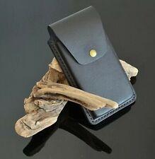 Custom made Leather Belt Cellphone Case Leather Mobile Phone Belt Case Holster