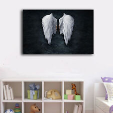 40×60×3cm Framed Canvas Prints Angel Wings Wall Art Home Decor Painting Gift