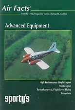 Air Facts Advanced Equipment (Sporty's DVD, Multi, Piper Aztec,Turbo, Autopilot