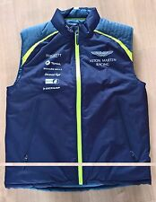 NEW 2017 ASTON MARTIN RACING TOTAL TEAM GILET Size = LARGE  Le MANS WEC ALMS GTE