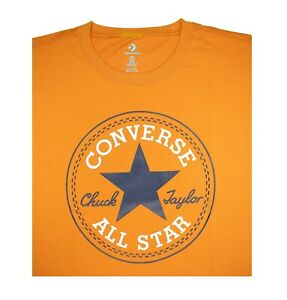 """NWT Converse Men SS Crew T-Shirt Tee """"ALL STAR CHUCK TAYLOR PATCH EDITION"""""""