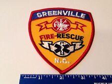 Greenville North Carolina Fire Rescue Patch