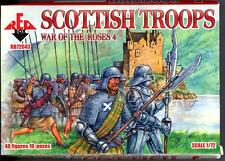 Red Box Models 1/72 SCOTTISH TROOPS WAR OF THE ROSES Figure Set