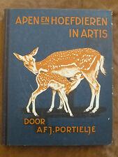 ALBUM IMAGES complet.VERKADE'S FABRIEKEN. A.F.J. PORTIELJE. APEN HOEFDIEREN  ART