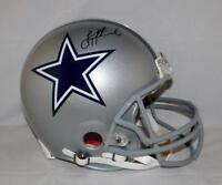 Troy Aikman Autographed Dallas Cowboys F/S ProLine Helmet- Beckett Auth *Black