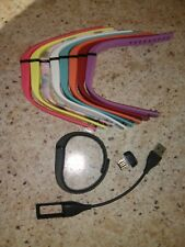 Fitbit Flex USB Charger, 9 Small Bands and USB dongle.