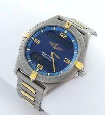 Breitling Aerospace Multifunctional f56059 Titanium Gold Men's Watch Box Manual