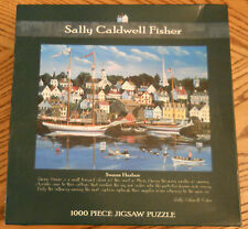 Sally Caldwell Fisher Jigsaw Puzzle 1000 Piece Swan Harbor GREAT GIFT NEW SEALED