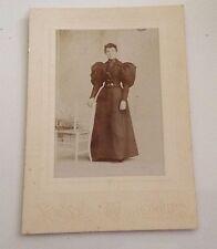 Cabinet Card Photo Oneida NY Vintage Antique Photograph Yoost Etta