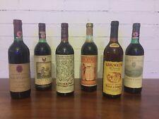 VINTAGE - Bottiglie di vino d'annata