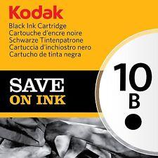 Kodak Genuine 10B Ink Cartridge - Black (425 Pages) Brand New Sealed Packaging