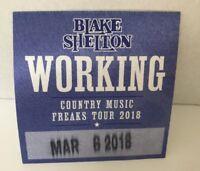 BLAKE SHELTON Epoxy Belt Buckle Country Music NEW!