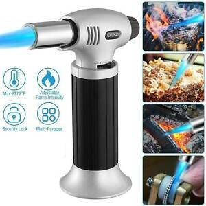 Butane Blow Torch Refillable Lighter Culinary Cooking Brulee Creme Baking A9F7