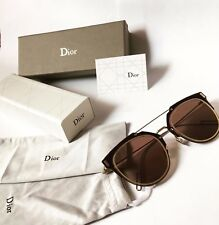 New Sunglasses Christian Dior Composit 1.0 Silver Dark Brown  with Packing !!!