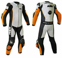 KTM MotoGp Motorbike/Motorcycle Racing Leathers 1 Or 2 Piece Suit All Sizes