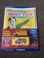 DeAGOSTINI-CLASSIC DINKY TOYS COLLECTION, PART2, BEDFORD CWT VAN, BRAND NEW
