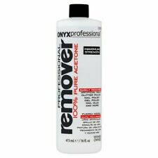 ONYX Professional 100% pure acetone nail polish remover16oz