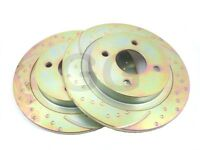 FORD Focus RS Mk2 305ps PADS Disque de Frein avant EBC YellowStuff Uprated dp42055r
