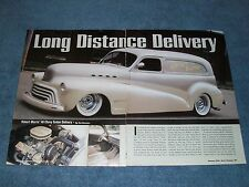 """1948 Chevy Sedan Delivery Custom Article """"Long Distance Delivery"""""""