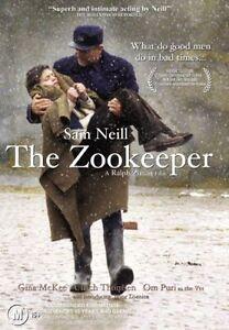 The Zookeeper DVD Sam Neill 2001 War Drama Movie - AUST REGION 4