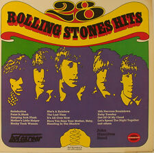 "28 ROLLING STONES HITS -SOMMERSET- 12"" POLLICI LP (h541)"