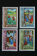 Timbres / Stamp LUXEMBOURG Yvert et Tellier n°1160 à 1163 NSG (cyn10)