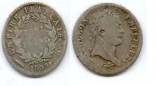 TRES RARE 1/2 FRANC NAPOLEON EMPEREUR ARGENT 1809 K ( BORDEAUX ) @ PETIT TIRAGE