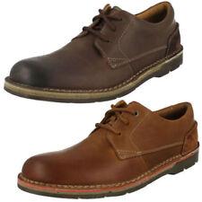 Zapatos informales de hombre textiles Clarks color principal marrón