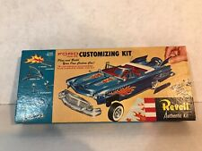 VINTAGE ORIGINAL REVELL 1/32 SCALE JUNKYARD FORD FAIRLANE CUSTOMIZING MODEL