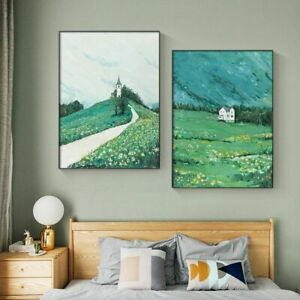 Nature Landscape Abstract Picture Scenery Poster Wall Art Canvas Painting Modern