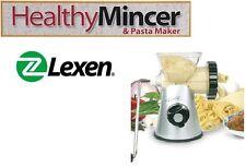 Lexen Healthy Mincer Pasta Maker Tritatutto Fa la Pasta, Salsa, Burger Vegetali