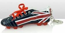 Union Jack Football Boot Keyring Football Shoe Keyring Soccer Key Ring Key Chain