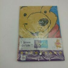 Winnie the Pooh & Piglet Vinyl Shower Curtain Pooh and Friend