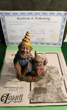 Cairn Studio Signed Tom Clark & Tim Wolfe Gnome Andy Happy New Year 1994 Retired