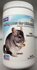 Happy Home Bathing Dust For Chinchillas 27 Oz. 100% Natural Blue Velvet Dust