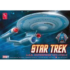 AMT Star Trek Cadet Series USS Enterprise NCC-1701-C 1:2500 Snap Model Kit