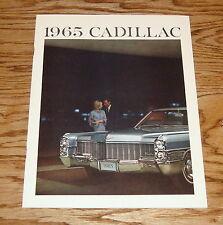 Original 1965 Cadillac Full Line Sales Brochure 65 Fleetwood DeVille