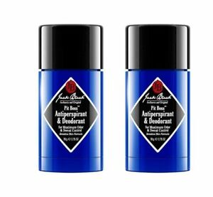 Jack Black Pit Boss Antiperspirant & Deodorant 2.75oz, 2 PACK - NEW AUTHENTIC