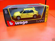 LANCIA DELTA HF INTEGRALE GIALLA YELLOW  BBURAGO 1:24 Plus  [MV33]